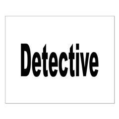 Detective Small Poster