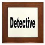 Detective Framed Tile