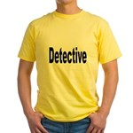 Detective Yellow T-Shirt