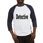 Detective (Front) Baseball Jersey