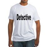 Detective (Front) Fitted T-Shirt
