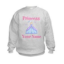 Blond Princess Personalized Sweatshirt