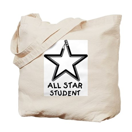 ALL STAR STUDENT Tote Bag