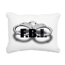 FBI1.jpg Rectangular Canvas Pillow