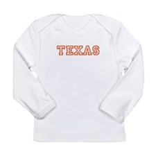 Texas Long Sleeve Infant T-Shirt