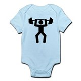 Weightlifting Infant Bodysuit