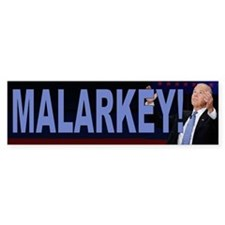 Malarkey Bumper Sticker