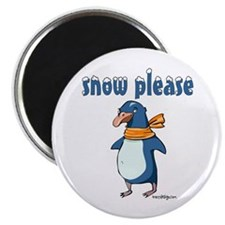 Snow Please Magnet