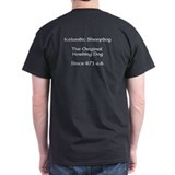 ISD Herding Shirt in 9 Colors Front and back