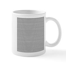 Black White Stripes Mug