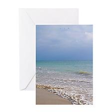 Puerto Vallarta Beach Greeting Card