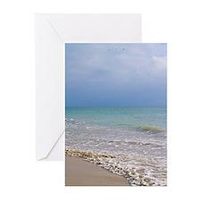 Puerto Vallarta Beach Greeting Cards (Pk of 10