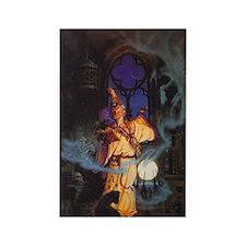 wizard enchanter Rectangle Magnet (10 pack)