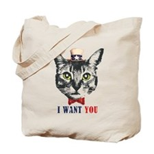 Uncle Cat Tote Bag