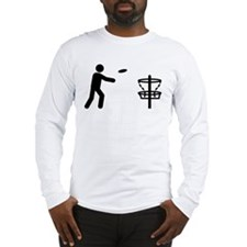 Disc Golf Long Sleeve T-Shirt