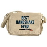 Castle Best Handshake Ever Messenger Bag