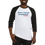 Bunch of Malarkey Biden Quote Baseball Jersey