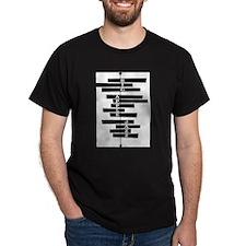Big Apple Jazz/ Heavy Duty Black T T-Shirt