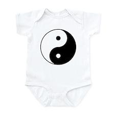 Yin & Yang (Black/White) Infant Creeper