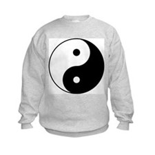 Yin & Yang (Black/White) Sweatshirt