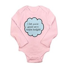 Unique Condom Long Sleeve Infant Bodysuit