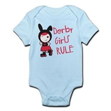 Roller Derby - Derby Girls Rule Infant Bodysuit