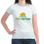 Palm Springs Jr. Ringer T-Shirt