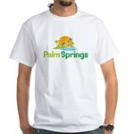 Palm Springs White T-Shirt