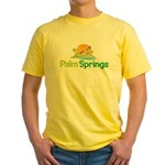 Palm Springs Yellow T-Shirt