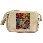 Flora Pastel Messenger Bag