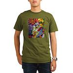 Flora Pastel Organic Men's T-Shirt (dark)