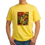 Flora Pastel Yellow T-Shirt