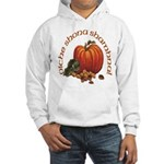 Gaelic Greetings Pumpkin Hooded Sweatshirt