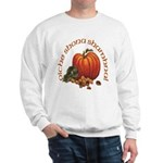 Gaelic Greetings Pumpkin Sweatshirt