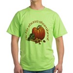 Gaelic Greetings Pumpkin Green T-Shirt