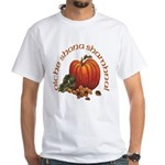 Gaelic Greetings Pumpkin White T-Shirt