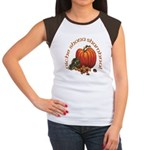 Gaelic Greetings Pumpkin Women's Cap Sleeve T-Shir