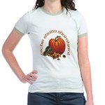 Gaelic Greetings Pumpkin Jr. Ringer T-Shirt