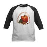 Gaelic Greetings Pumpkin Kids Baseball Jersey