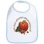 Gaelic Greetings Pumpkin Bib