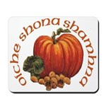 Gaelic Greetings Pumpkin Mousepad