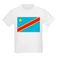 Congo Flag Kids T-Shirt