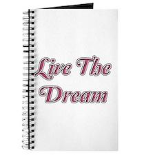 Cute Living the dream Journal