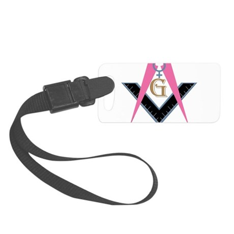 Lady Freemasons Small Luggage Tag