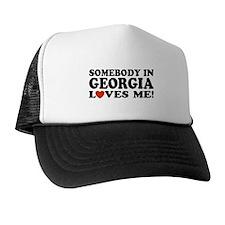 Somebody In Georgia Loves Me Trucker Hat