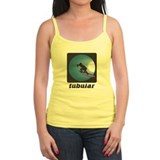 Tubular Retro Surf Design Ladies Top