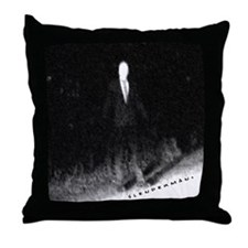 Slenderman Throw Pillow