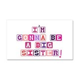 Big Sister.psd Car Magnet 20 x 12