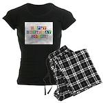 Happy Birthday Mommy.psd Women's Dark Pajamas
