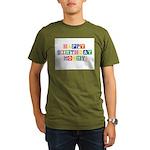 Happy Birthday Mommy.psd Organic Men's T-Shirt (da